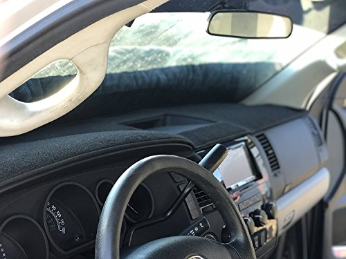 Black Carpet Dashboard Cover 2016-2019 Fits Toyota Tacoma Angry Elephant Black Carpet Dashboard Cover 2016-2019 Fits Toyota Tacoma All Models. Custom Fit Dash Cover, Easy Installation.