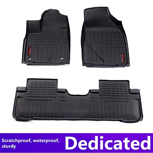 TUTU-C Car Floor mats for Honda MOBILIO(Seven Seats) 2016 Ten Generations Car Accessories car Styling Custom Floor mats TOP Material