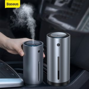 Baseus High Quality Car Air Humidifier Aroma Essential Oil Diffuser 300ml Aromatherapy Diffuser USB for Home Office Air Purifier
