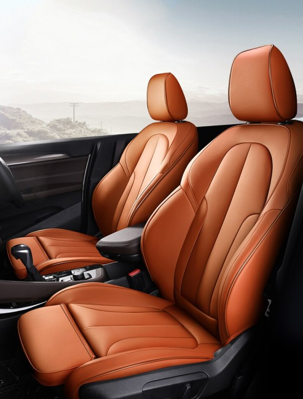 BMW X1 cover set for cars leather