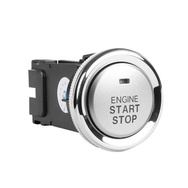 Start button engine start passive keyless entry car alarm system