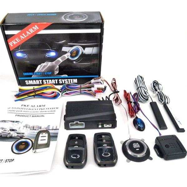 Partol Smart Key PKE Car Alarm Passive Keyless Entry Car