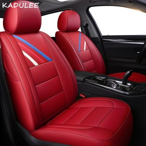 Leather Car seat cover for mercedes w203 w124 w202