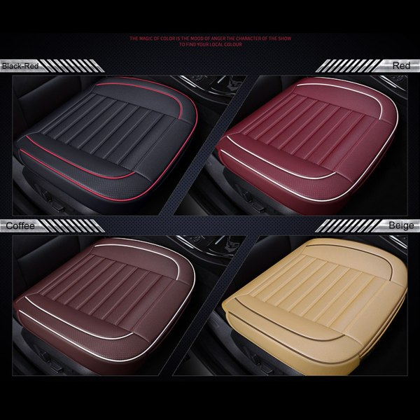 3D Universal Car Seat Cover PU Leather Breathable