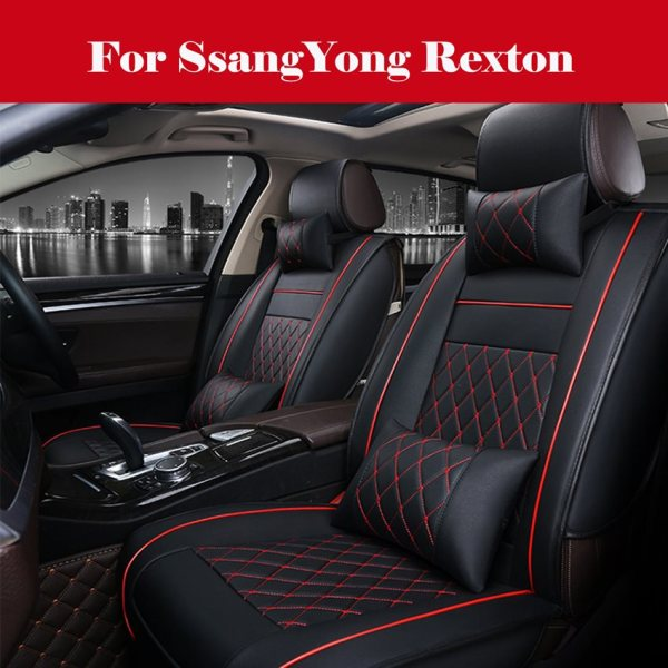 Leather Seat Cover For SsangYong Rexton