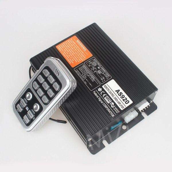 DC12V Wireless Remote Control 200W Car Alarm Siren