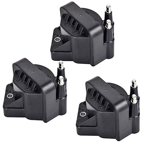 Ignition Coil Pack of 3 Replacement for 3.8L L4 V6