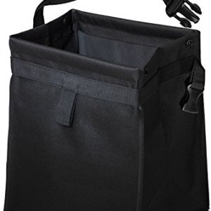 OxGord Waterproof Car Trash Can with Lid