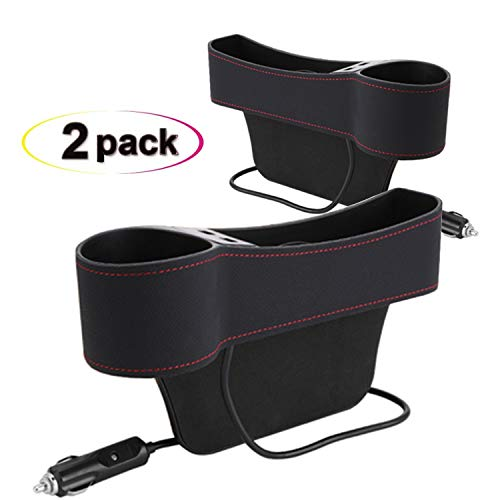 omotor Car Seat Gap Filler,Seat Console Organizer Pocket