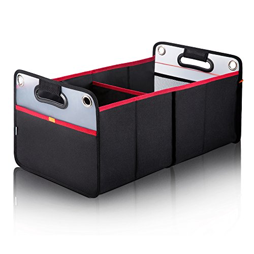Grocery Cargo Container with Two Large Compartments for SUV