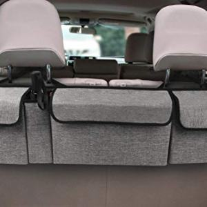 Car Backseat trunk Organizer for SUV & Most Vehicles