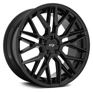 Niche Gamma 24x10 5x112 +35mm Gloss Black