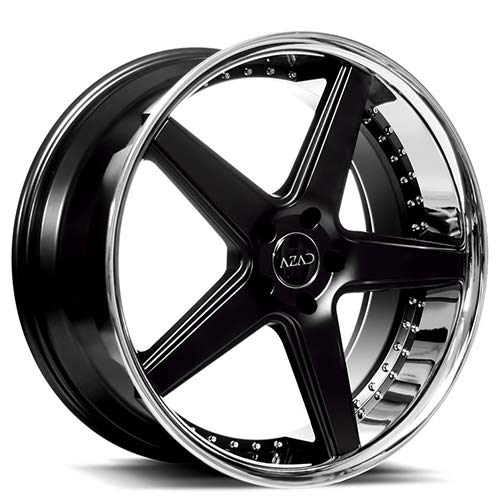 Azad AZ008 – 20 Inch Staggered Rims – Set of 4