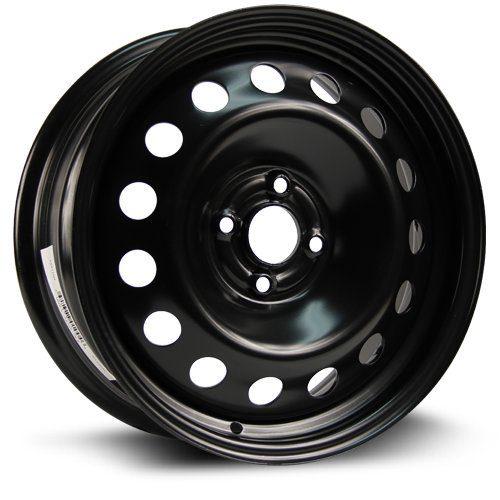 RTX, Steel Rim 16X6.5, 4X100, 56.6, 42, black finish