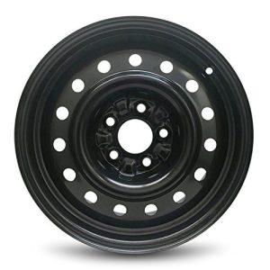 Wheel For 2002-2006 Nissan Altima Lug Black Steel Rim Fits R16 Tire