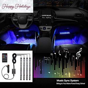 Car LED Strip Lights EXPERTBEAM interior footwell lighting kit