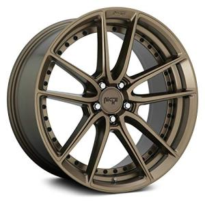 "Bronze Wheel Rim 17"" Inch 17x8 5x4.5"" +40mm"