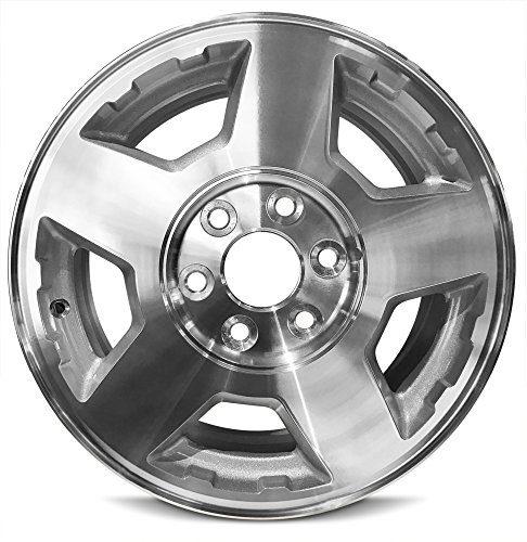 Wheel For 2004-2007 Chevrolet Silverado 17 Inch 6 Lug Gray
