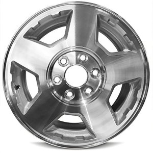 Wheel For 2004-2007 Chevrolet Silverado 17 Inch 6 Lug Gray