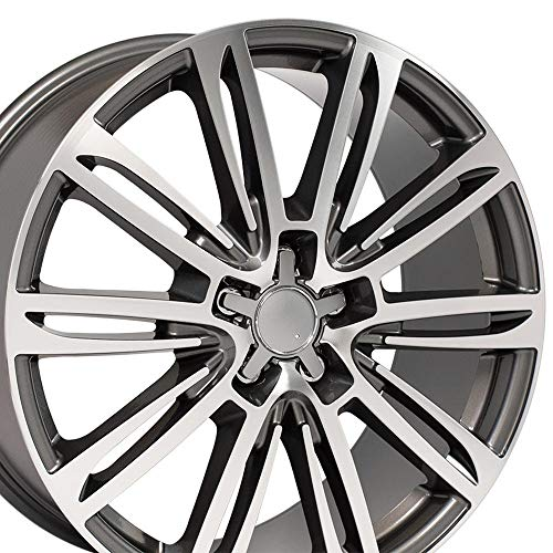 Audi A5 A4 A6 A7 A8 TT 20 Inch OE Wheels Gunmetal
