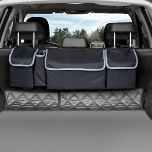Seat Back Storage to Keep Car Trunk Neat Car Cargo Organizer
