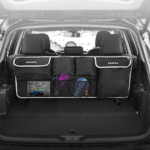 Ksasky Car Trunk Organizer, Super Capacity Car Backseat