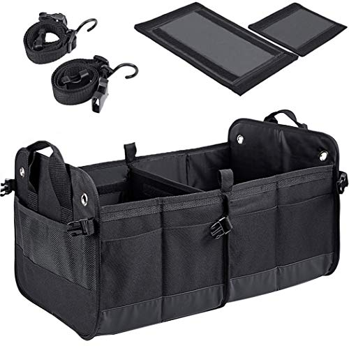 Collapsible SUV Cargo Organizer with 3 Compartments