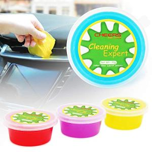 CHEERS DEVICES 4-Pack Car Cleaning Gel