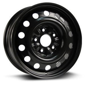 Steel Rim Wheel, 16X6.5, 5X127, 71.5, 40, black finish