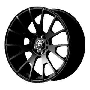 Matte Black Finish Wheel Racing MR118