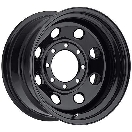 "SOFT 8 BLACK Black Wheel (16x8""/5x5"", +12mm Offset)"