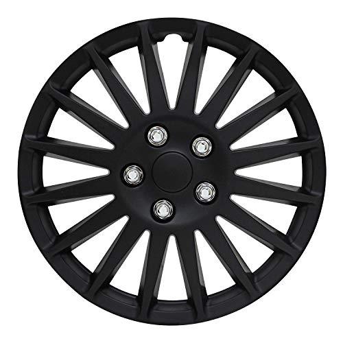 "Pilot Automotive All Black 16"" Indy Wheel Cover"