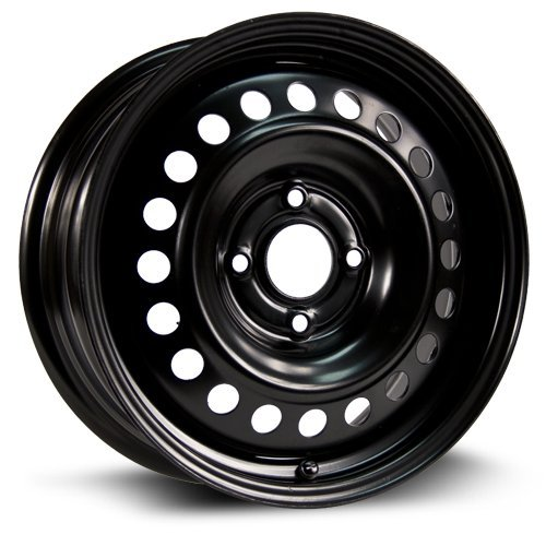 RTX Steel Rim Aftermarket Wheel black finish