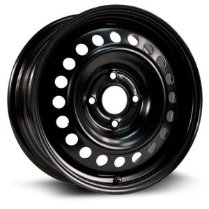 RTX Steel Rim Aftermarket Wheel black finish