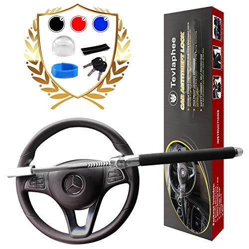 Tevlaphee Steering Wheel Lock for Cars,Wheel Lock