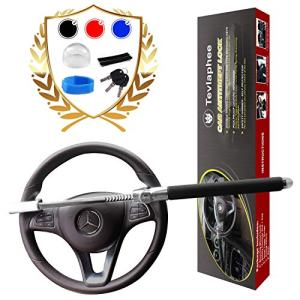 Tevlaphee Steering Wheel Lock for Cars,Wheel Lock