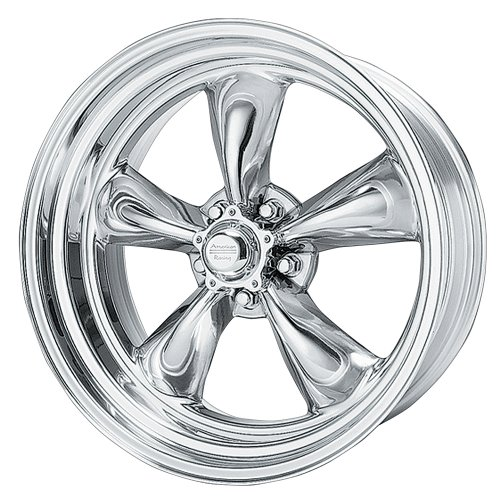 American Racing Hot Rod Torq Thrust II Polished Wheel