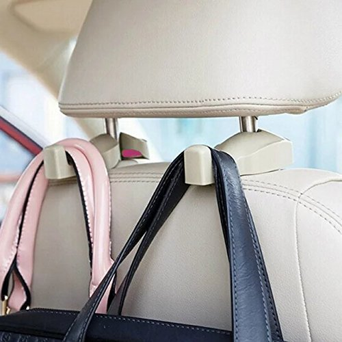 IPELY Universal Car Vehicle Back Seat Headrest Hanger