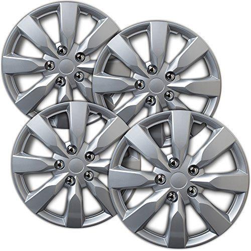 2014-2019 Toyota Corolla Hub Caps 16 inch Silver Rim Cover