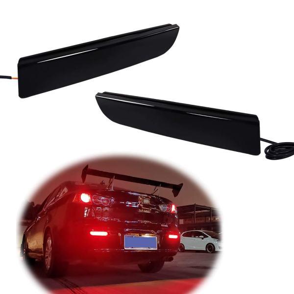 Evolution X or Outlander 2008-2017 Led Rear Bumper Reflector Brake Tail Light