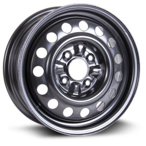 RTX black finish Aftermarket Wheel, 15X6, 4X114.3