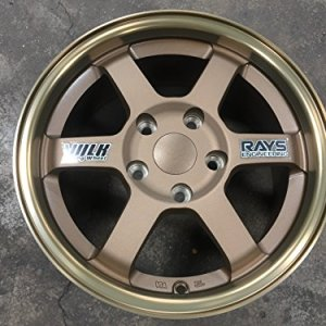 15 inch Volk Racing Te37 design wheel PCD