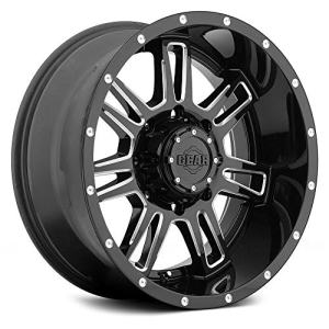Alloy 737BM CHALLENGER Wheel with Milled Finish
