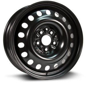 RTX, Steel Rim Wheel, 17X7, 5X114.3, 64.1, 45, black finish X47564