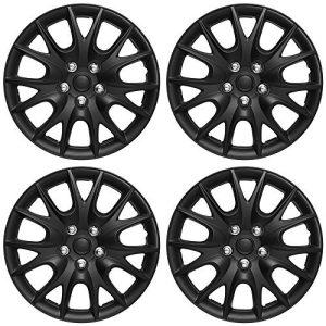 Nissan Maxima 15in Hub Caps Black Rim Cover Wheel Covers