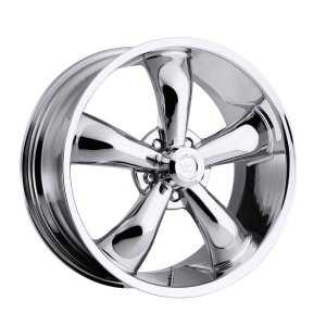 Chrome 18 Inch Rim x 8.5 - (5x4.75) Offset (-6) Wheel Finish