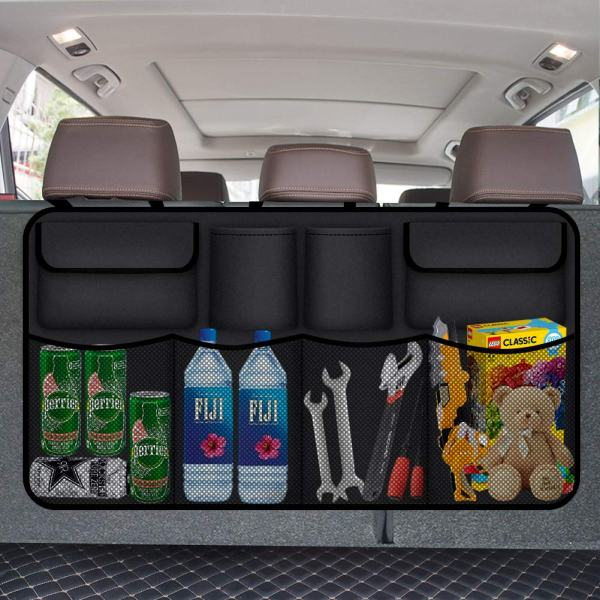 Waterproof 8 Pocket Backseat Trunk Organizer