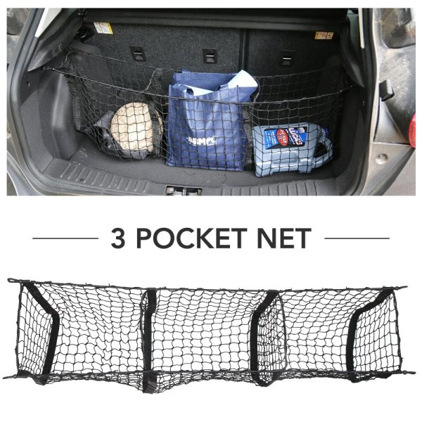 9 MOON Cargo Net- Universal Heavy Duty Stretchable Truck Net