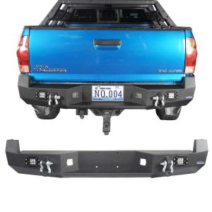 V8 GOD Rear Bumper for Toyota 2005-2015 2nd
