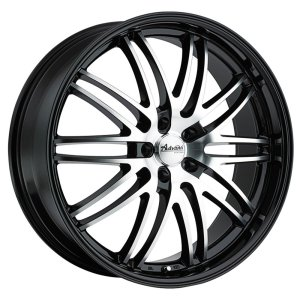 22 Inch Rim x 10 Wheel Finish - gloss black machined face